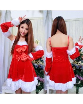 Perform stage christmas costumes show party clothing