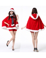 Show party clothing red christmas costumes