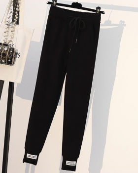 Fat Casual casual pants slim winter pants for women