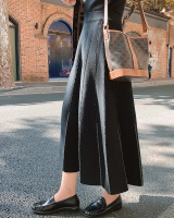 Pleated high waist long skirt long skirt for women