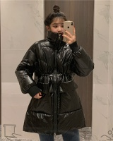 Down glossy cotton coat Korean style winter bread clothing