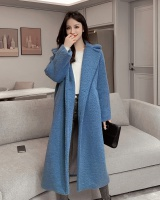 Autumn and winter coat Western style overcoat for women