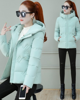 Short thick down coat loose winter cotton coat for women