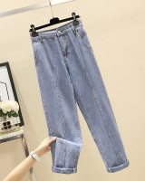Fat sister autumn and winter fashion jeans for women