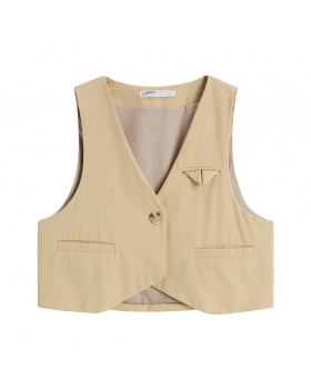 Outside the ride skirt spring and autumn waistcoat for women