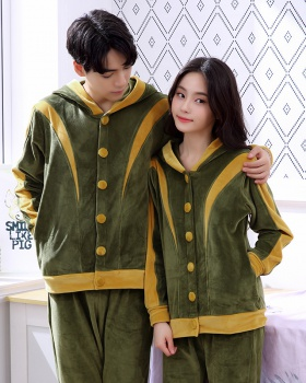 Lovely autumn and winter pajamas a set for men