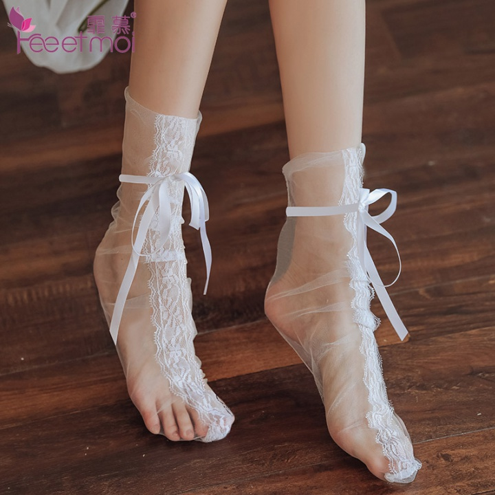 Binding gauze stockings perspective fitting a set