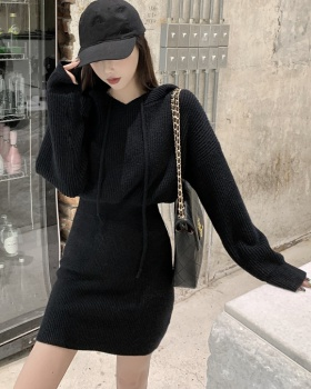 Bottoming thick dress knitted sweater for women