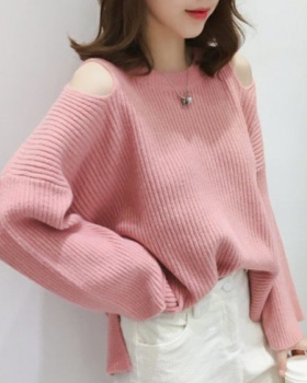 Autumn and winter pullover tops pure sweater for women