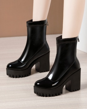 Large yard martin boots autumn and winter platform