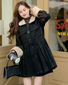 France style black Western style dress for women