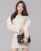 Knitwear Casual sweater high elastic dress
