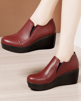 Autumn and winter shoes thick crust platform for women