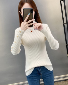 All-match slim bottoming shirt knitted tops