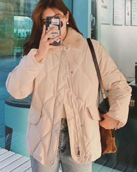 Thick Korean style cotton coat winter coat for women