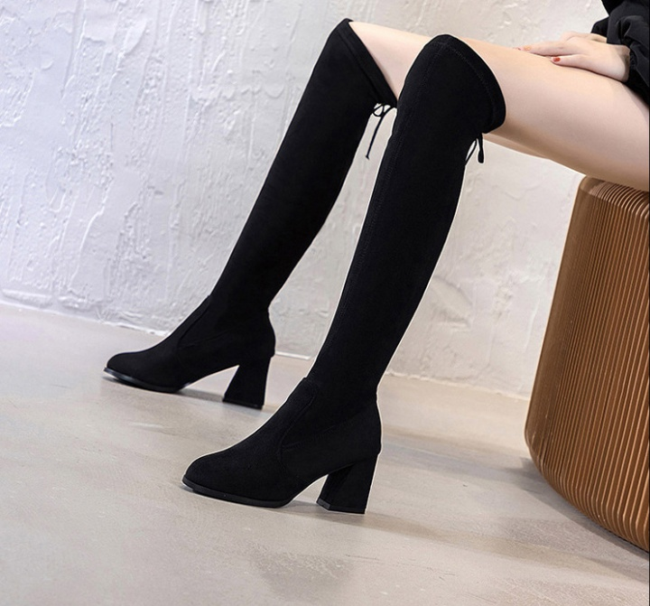 All-match fashion thigh boots slim boots for women