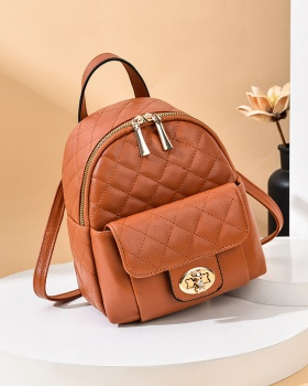 Mini small schoolbag autumn student backpack for women