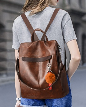 Fashion multifunction backpack retro all-match backpack
