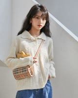 Loose cardigan autumn and winter coat for women