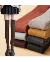 College style Japanese style thick pantyhose for women