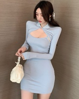 Tight shawl temperament strap dress 2pcs set for women