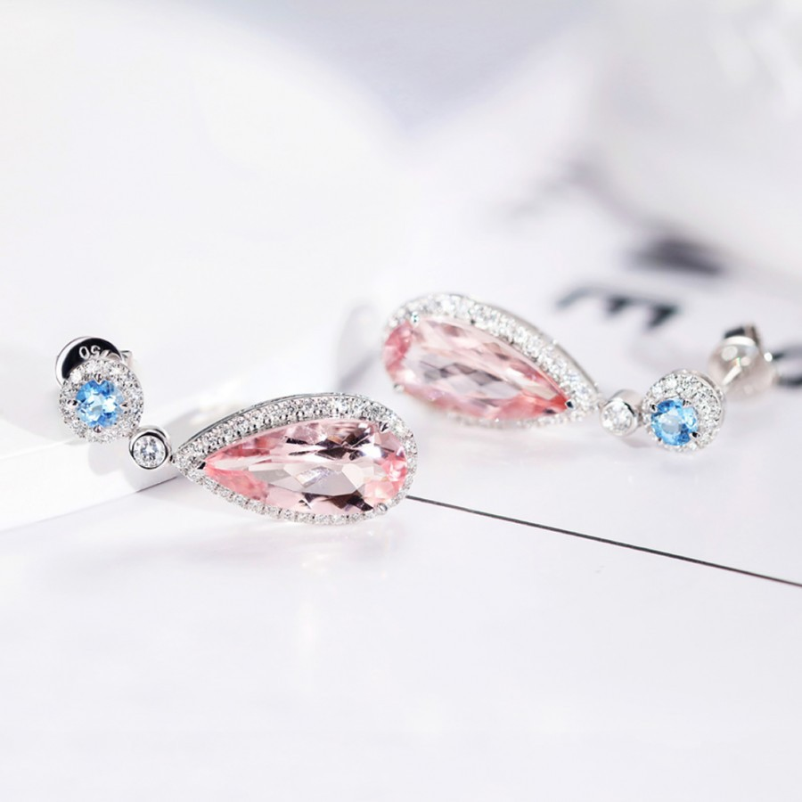 Mosaic stud earrings European style earrings for women