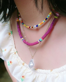 Colors necklace accessories for women