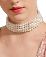 European style beads accessories chain clavicle necklace