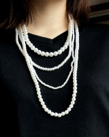 Multilayer national style pendant necklace for women