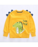 Long sleeve cartoon tops child couples hoodie