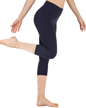 High waist yoga cropped pants tight fitness pants