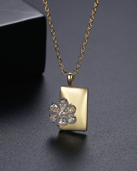 Fashion gold necklace European style clavicle necklace