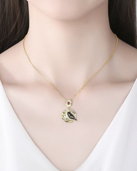 Korean style gold clavicle necklace geometry necklace for women