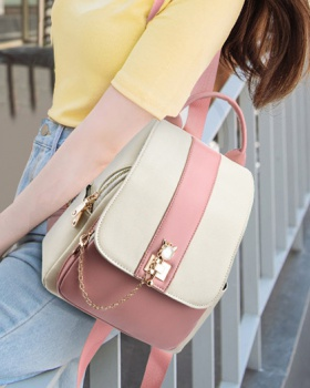 Fashion Korean style backpack portable simple backpack