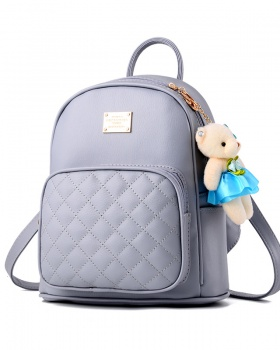 Casual schoolbag Korean style backpack for women