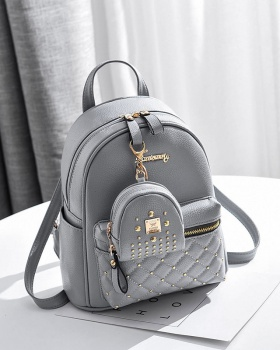 Summer rivet student backpack Korean style with backpack