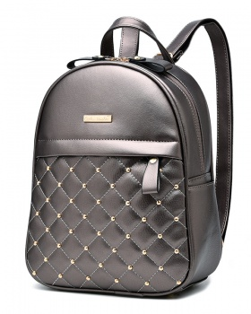 Rivet fashion students pack European style backpack