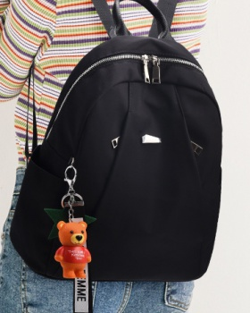 High capacity Korean style backpack all-match backpack for women