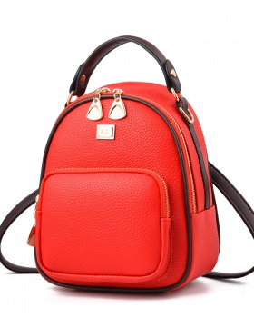 Personality fashion backpack Korean style backpack for women