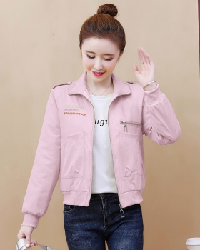 Spring short baseball uniforms all-match coat for women