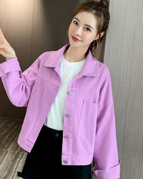 Letters jacket work clothing for women