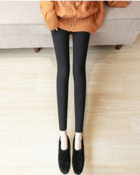Slim winter trousers thermal thick leggings for women