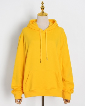 All-match loose Casual hooded temperament spring hoodie