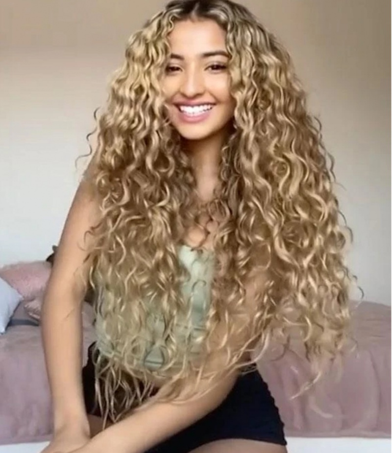 Lace headgear small curly hair for women