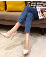 European style fine-root shoes sexy high-heeled shoes for women