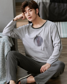 Thin Casual spring and autumn long sleeve homewear pajamas