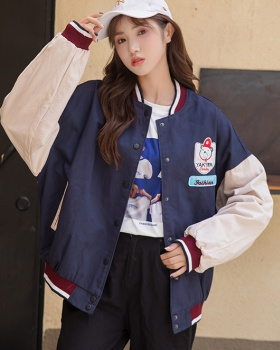All-match coat locomotive baseball uniforms for women