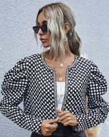 Fashion and elegant jacket autumn and winter tops for women