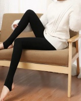 Thermal wears outside leggings high waist screw thread tights