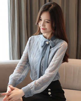 Long sleeve small shirt Cover belly tops for women